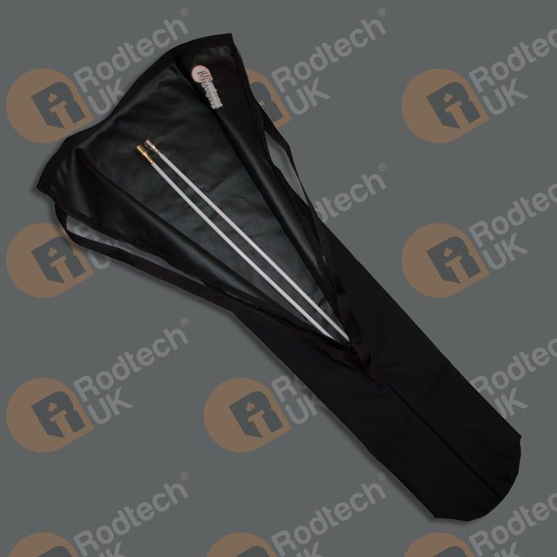Enclosed Zipped Rod Bag with large Pocket