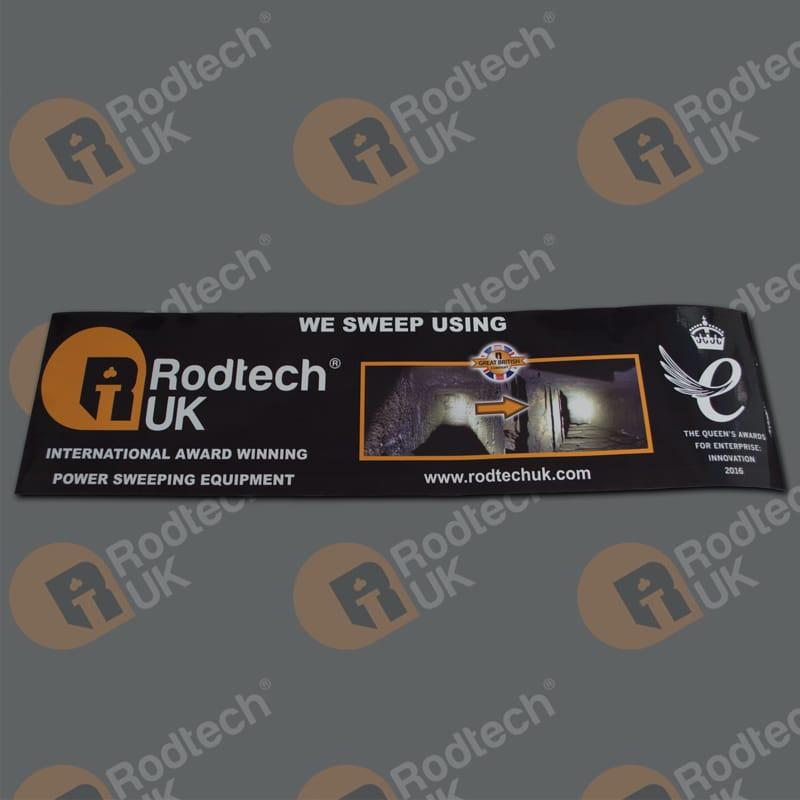 Rodtech UK Van Sticker