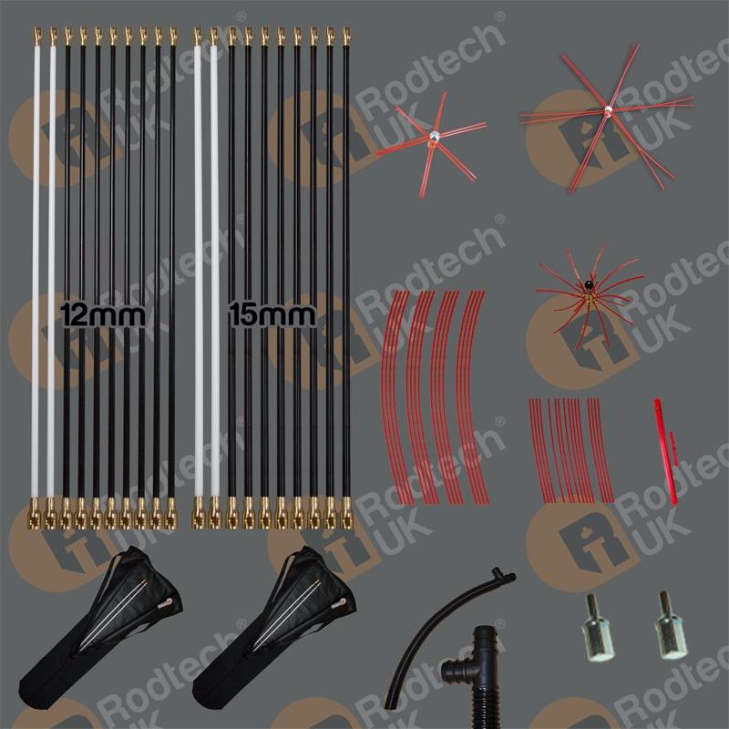 Rodtech Brass Click Starter Kit
