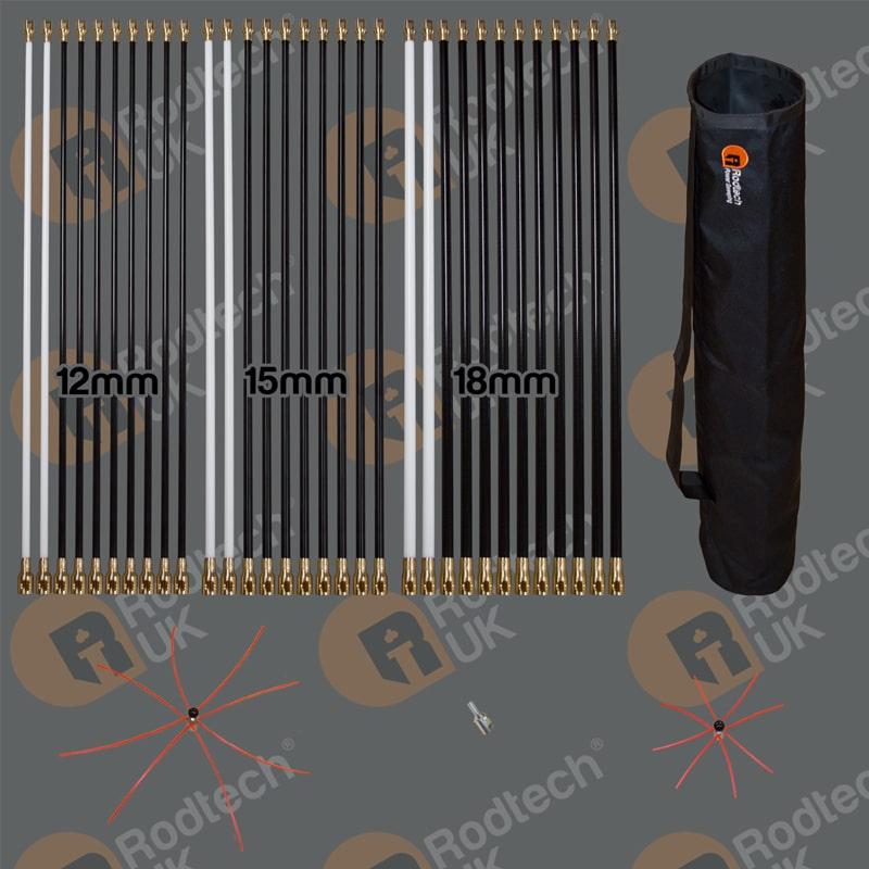 Rodtech Brass Click Large Kit
