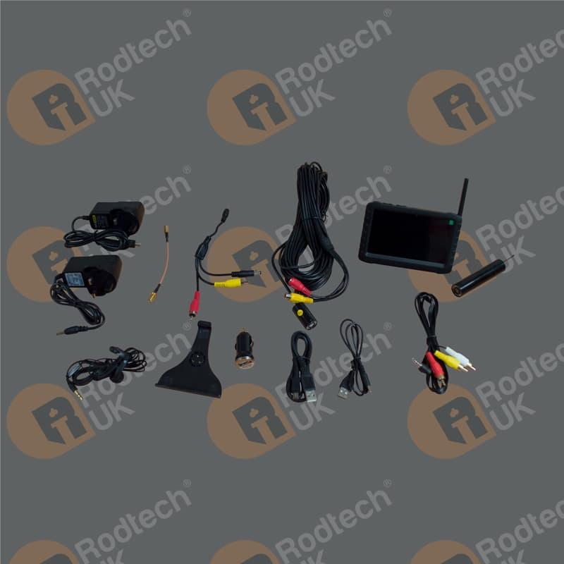 Chimney Inspection Camera Kit (No Head or Case)