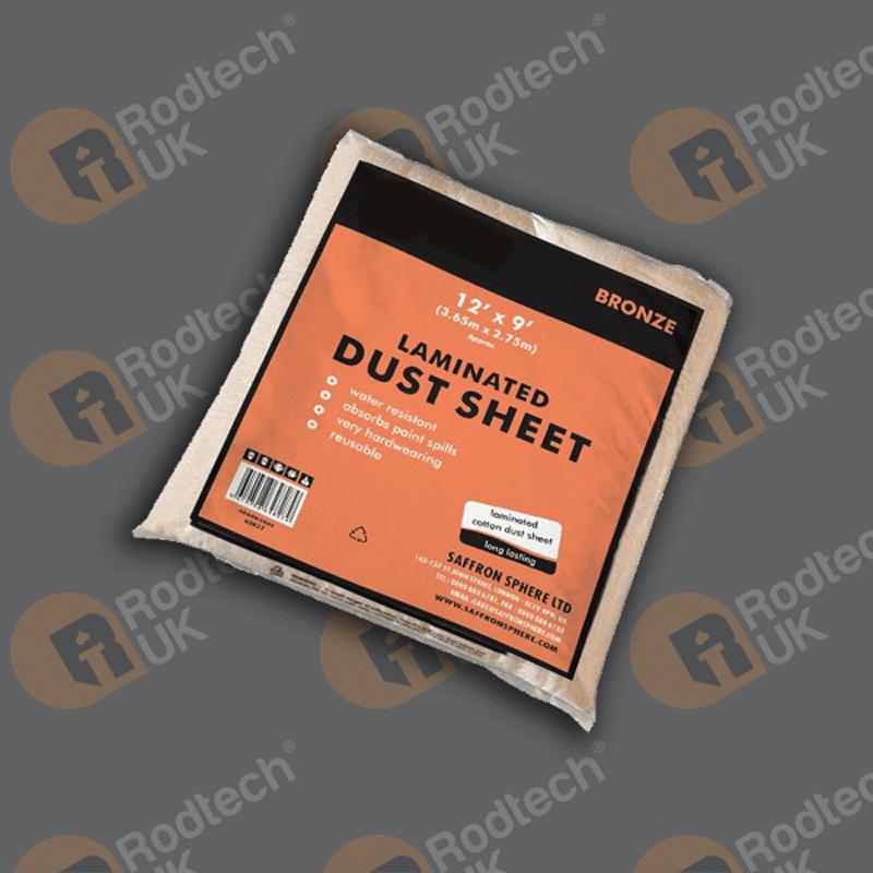Laminated PVC Backed Dustsheet – 12'x9′