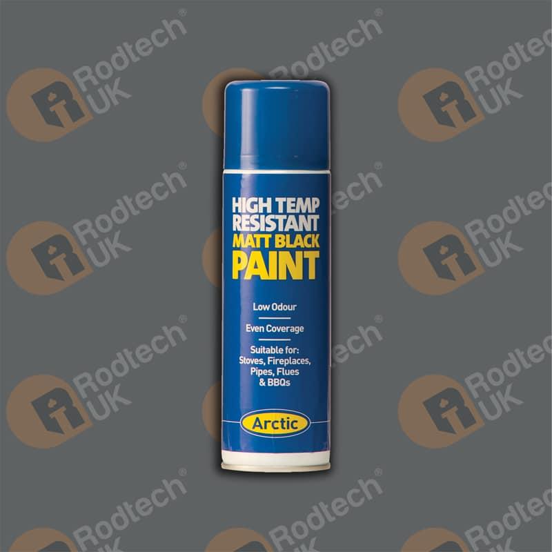 High Temp Matt Black Paint 300ml – Arctic Hayes