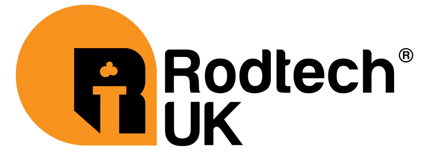 Rodtech Power Sweeping Logo - Black