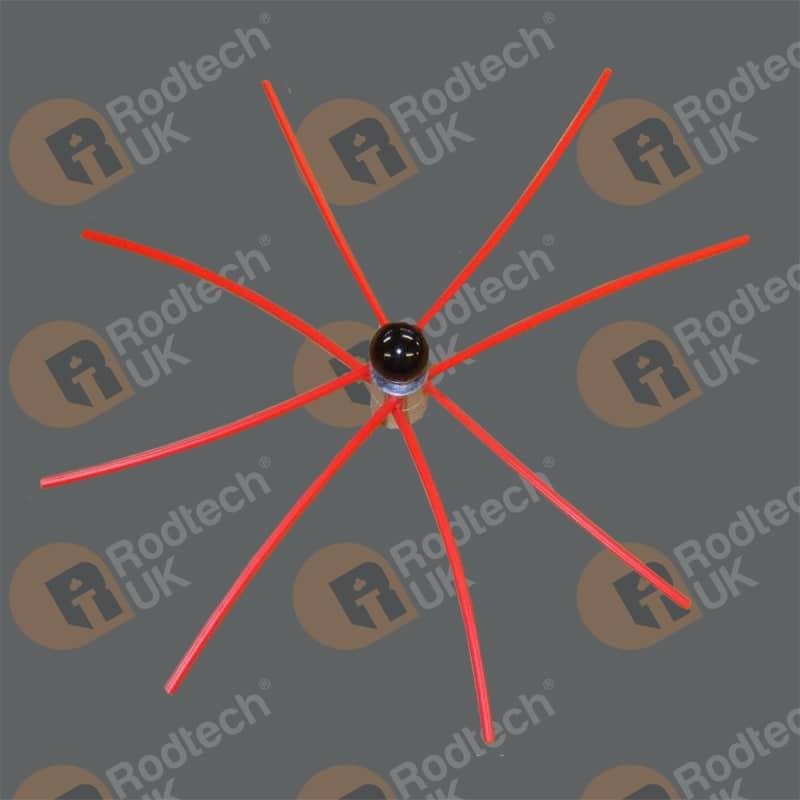 Rodtech Buttonlok 300mm Power Sweeping Brush