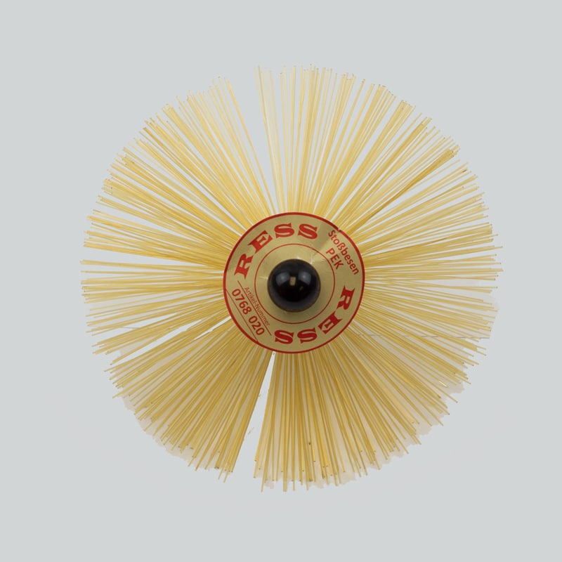 200mm PEK Brush (Heat Resistant) – M10 Threaded