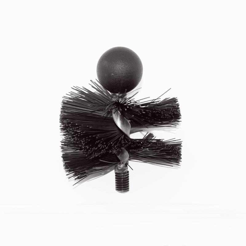 "4"" Soft Bristle Tamar MiniMole Flue Brush"