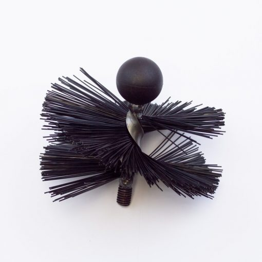 "The 6"" (150mm) Soft Bristle Tamar Mini Mole Brush - Rodtech UK"