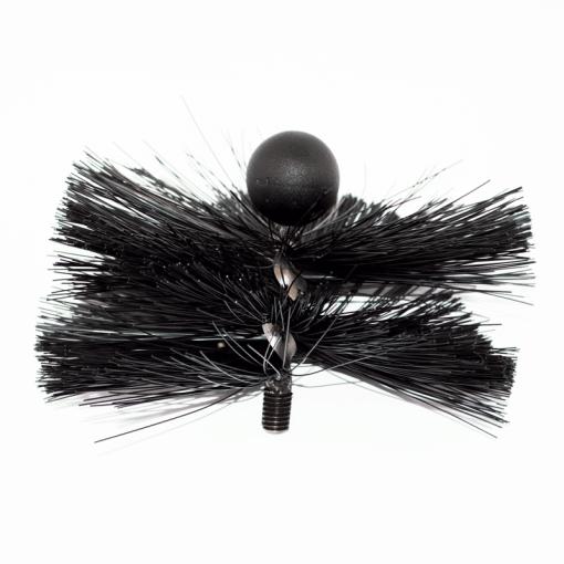 8'' Soft Bristle Tamar MiniMole Flue Brush - Rodtech UK
