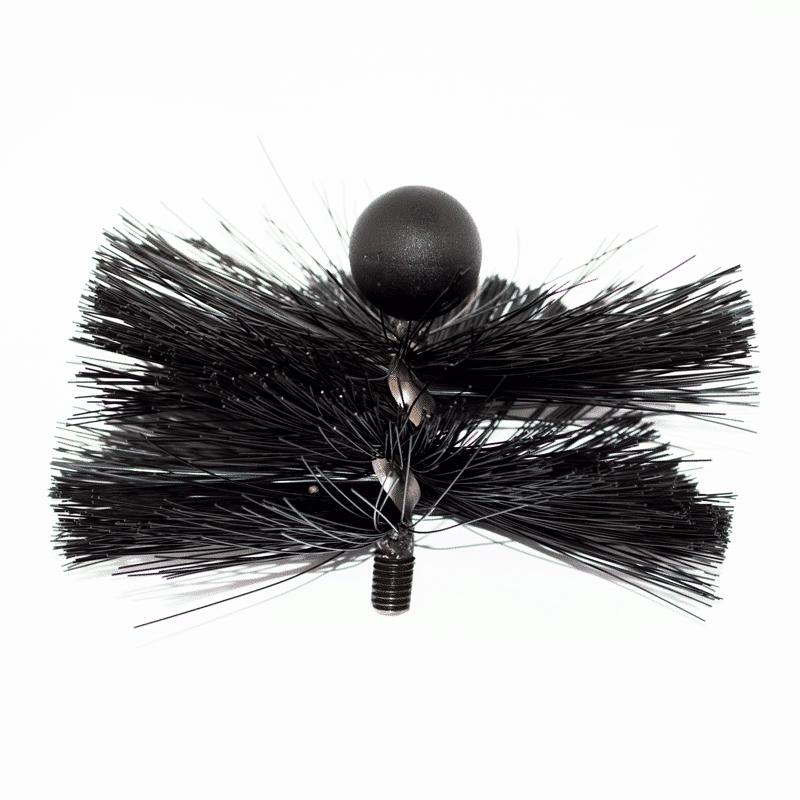 "8"" Soft Bristle Tamar MiniMole Flue Brush"