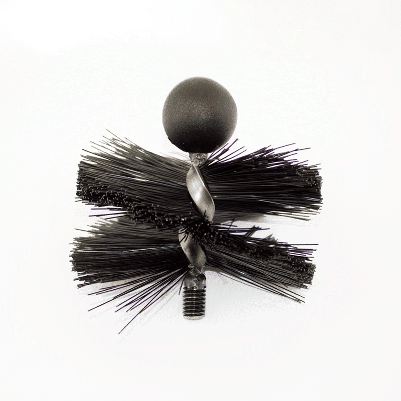 5″ Medium Bristle Tamar MiniMole Flue Brush