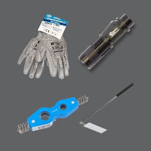 Tools, PPE & Documents
