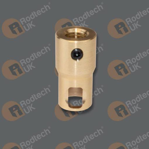 Rodtech Mini Click to half inch Whitworth Adapter