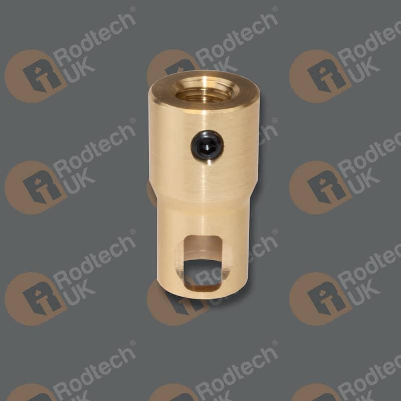 Rodtech Mini Click to 1/2 Inch Whitworth Adapter