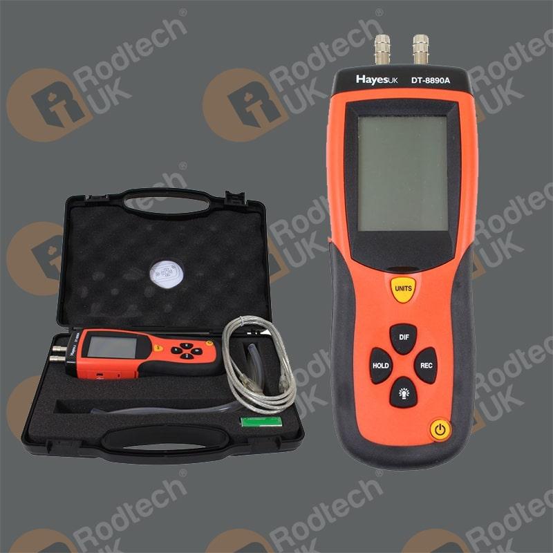 Digital Differential Pressure Meter Kit
