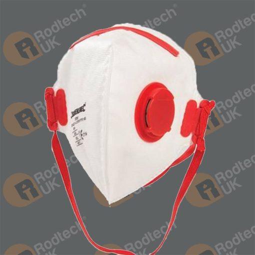 Fold Flat Valved Face Mask FFP3 Twinpack