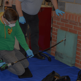 Chimney Sweep Training by Heating Education & Training Services Ltd