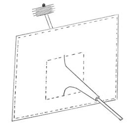 Open Fire / Appliance Soot Sheet with Trunk (Medium)