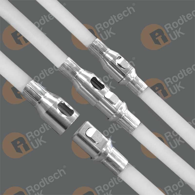 15mm White Rod – Rodtech Click 1000mm STEEL