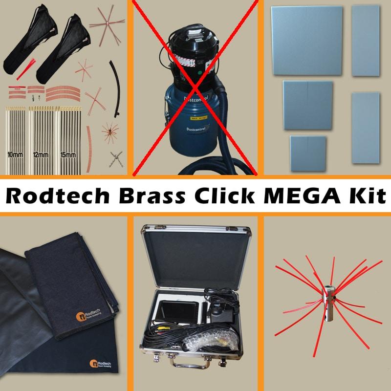 Rodtech Brass Click Mega Kit UK (NO VACUUM)